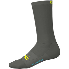 Alé Cycling Klimatik Strømper, grey-fluo yellow